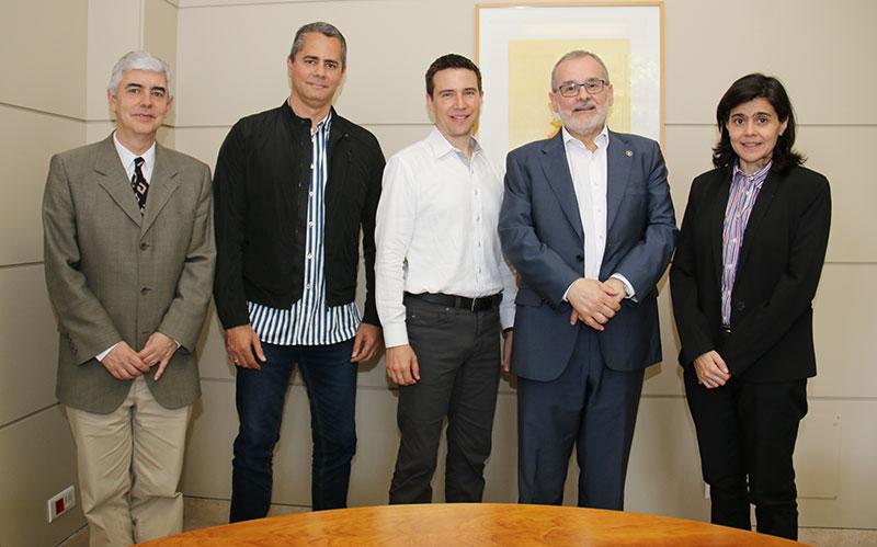 Regan Visits the University of Cantabria